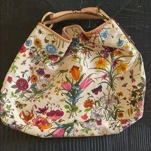 Gucci Floral Handbag